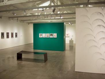 Steel Bench, Palo Alto Art Center