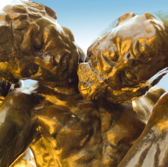 The Three Shades, Rodin (detail)