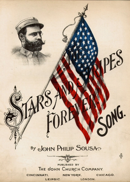 Album cover: The Stars And Stripes Forever, John Philip Sousa