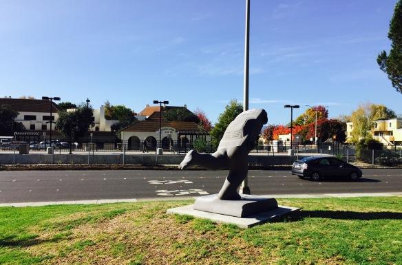 Rrrun, Bowden Park, Alma St and California, Palo Alto.