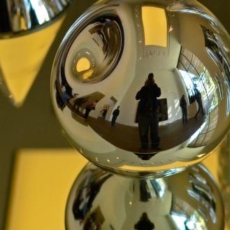 Selfie in Blown Glass