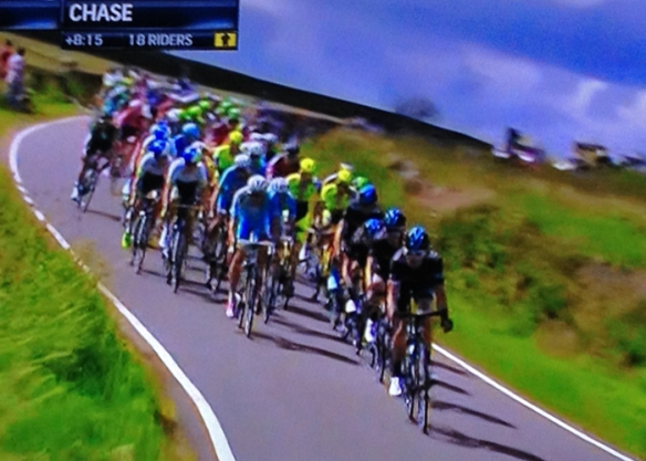 Chasing The Leaders, Tour de France