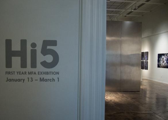 Hi5 at the Stanford Art Gallery, Jan. 2015