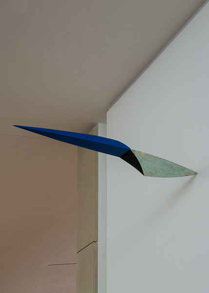 Fulcrum by Bryan Hunt,The Anderson Collection at Stanford University