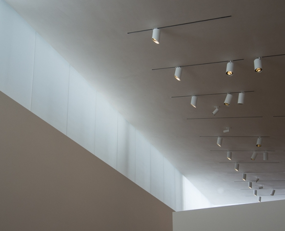 Gallery Lighting, The Anderson Collection at Stanford University