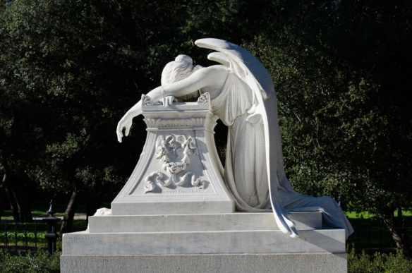 Angel of Grief, Stanford, 2015 (after the restoration of 2001)