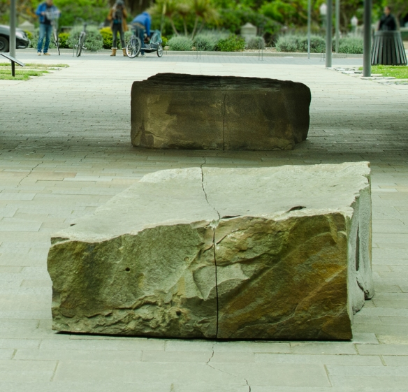 Andy Goldsworthy: Drawn Stone, 2005, De Young Museum, SF