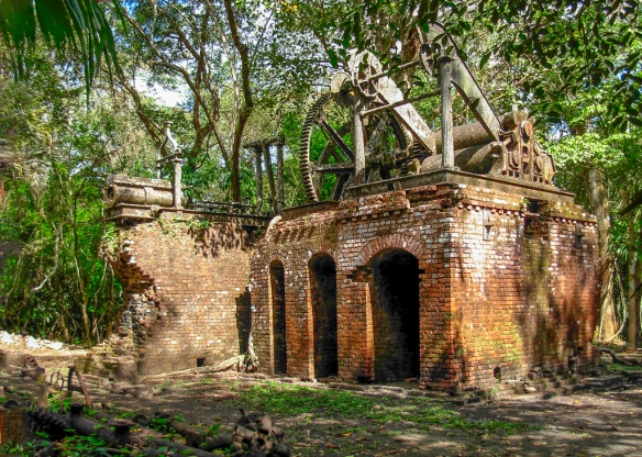 Abandoned Sugar Mill, Lamani, Belize