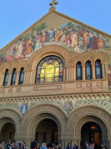 Memorial Church at Sunset, Stanford University, Aug. 2015