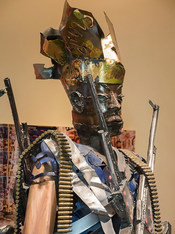 Dressed to Kill, Sokari Douglass Camp, Nigeria