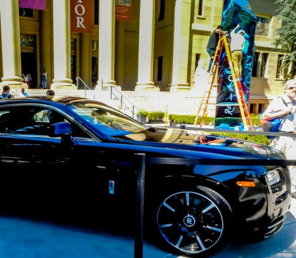 Rolls-Royce Wraith at the Cantor Art Center Gala, 2015