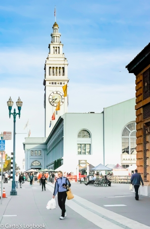 Ferry Building and Market Place, San Francisco, 2016