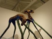 Needle-Felted Deer, Karrie Hovey, Palo Alto Art Center, 2017